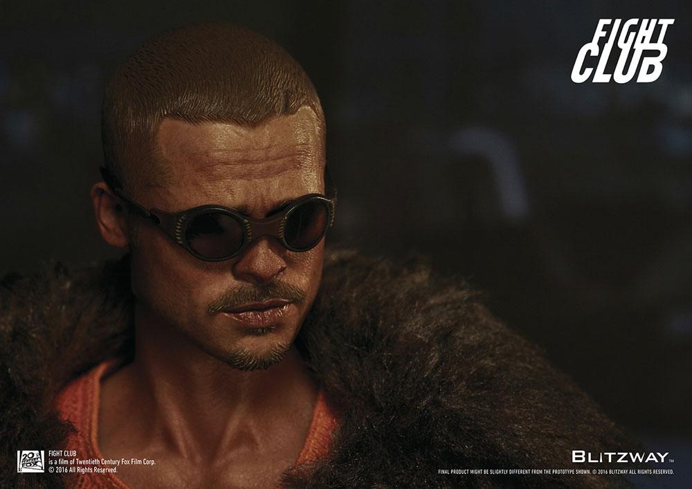 d8498aa7b3 Fight Club Action Figure 1 6 Tyler Durden (Brad Pitt) Fur Coat Ver ...