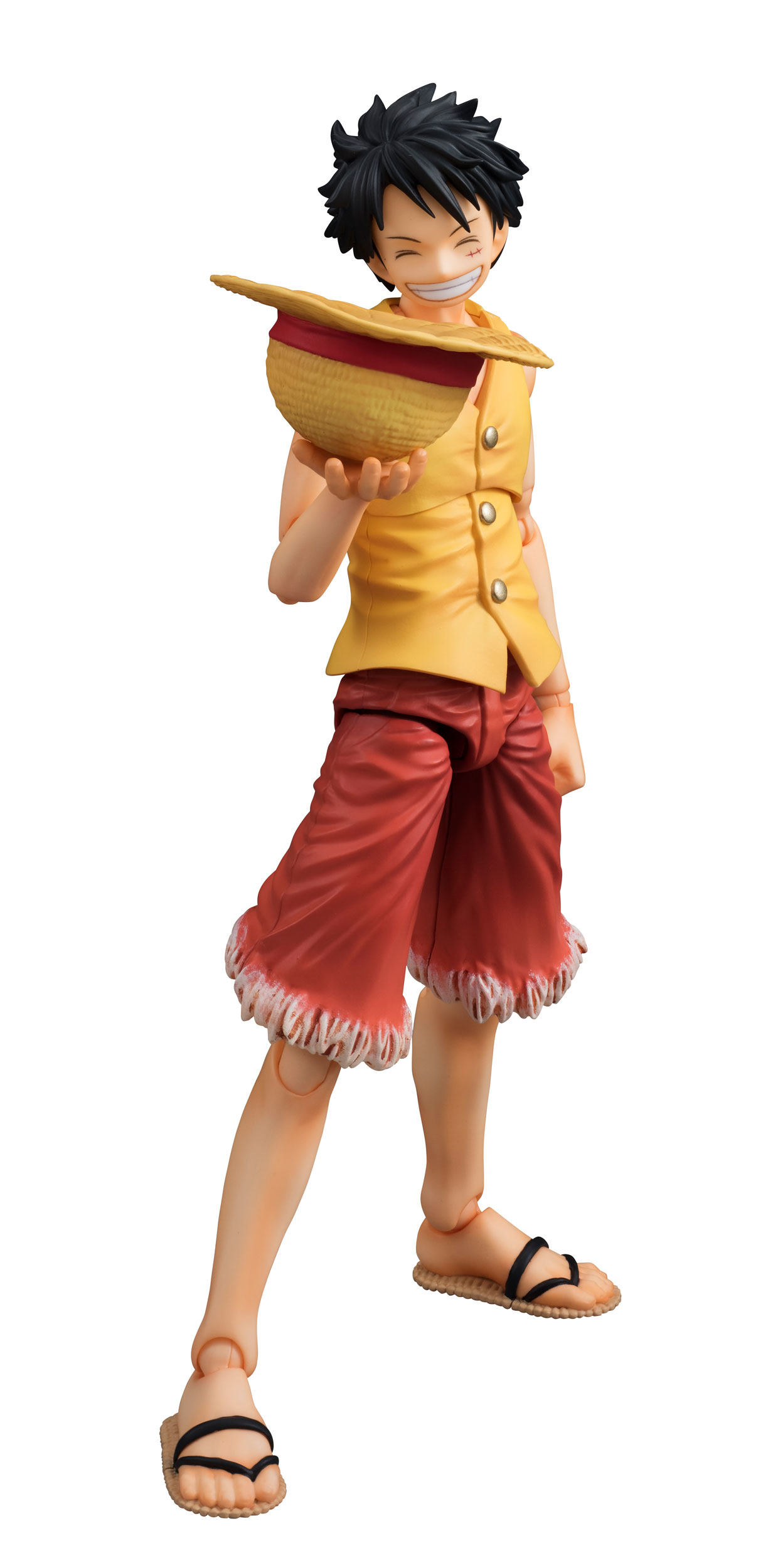 One Piece Variable Action Heroes Action Figure Monkey D ...