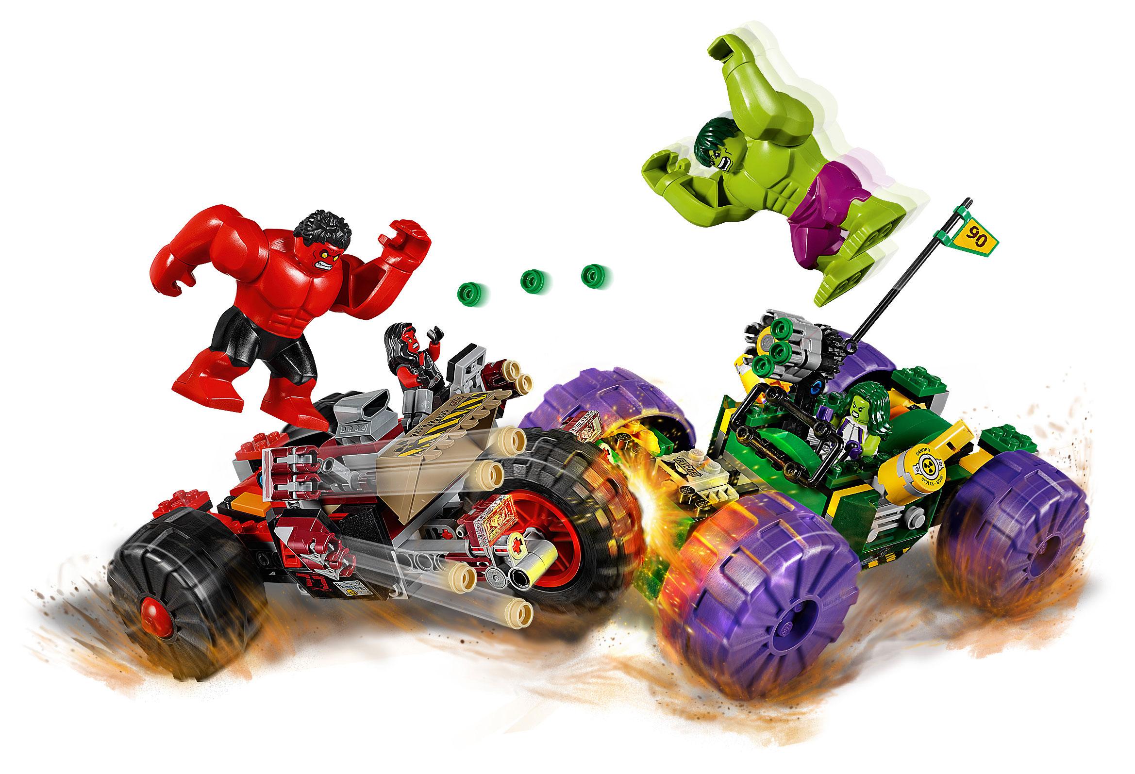 Lego Marvel Super Heroes Avengers Hulk Vs Red Hulk Animegami Store