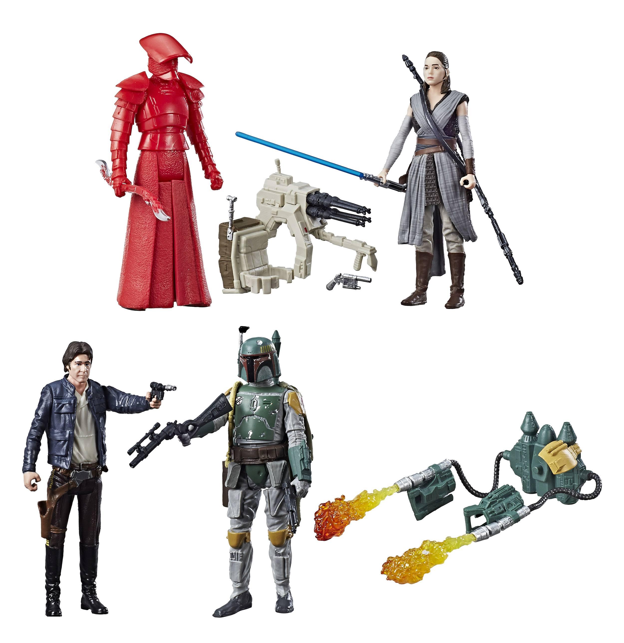 Star Wars Toys 2017 : Star wars force link action figures cm packs
