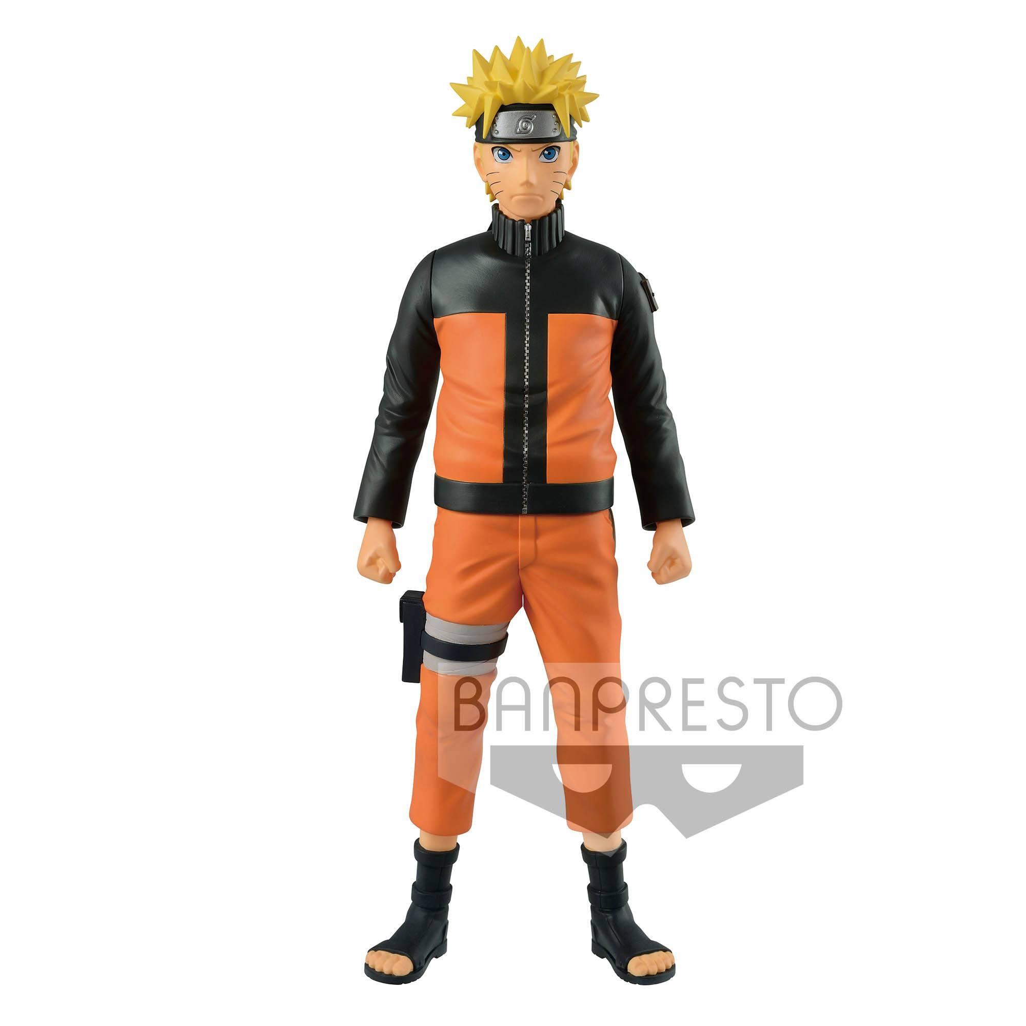 Naruto Shippuden Big Size Vinyl Figure Naruto 27 cm  Animegami Store