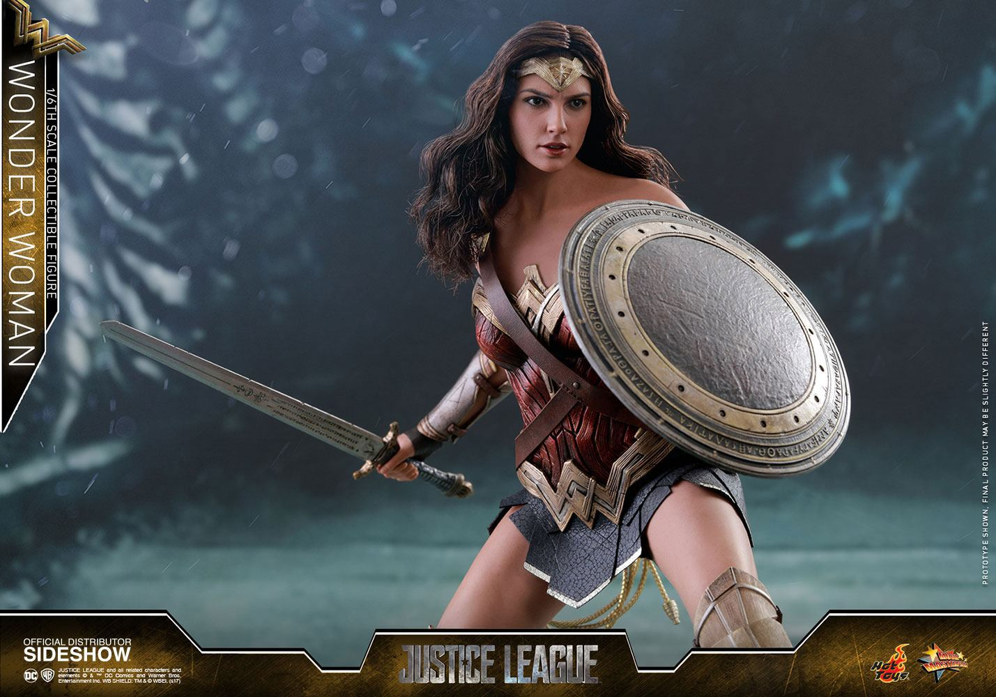 Justice League Movie Masterpiece Action Figure 1 6 Wonder Woman 29 Scale Female Cm Animegami Store