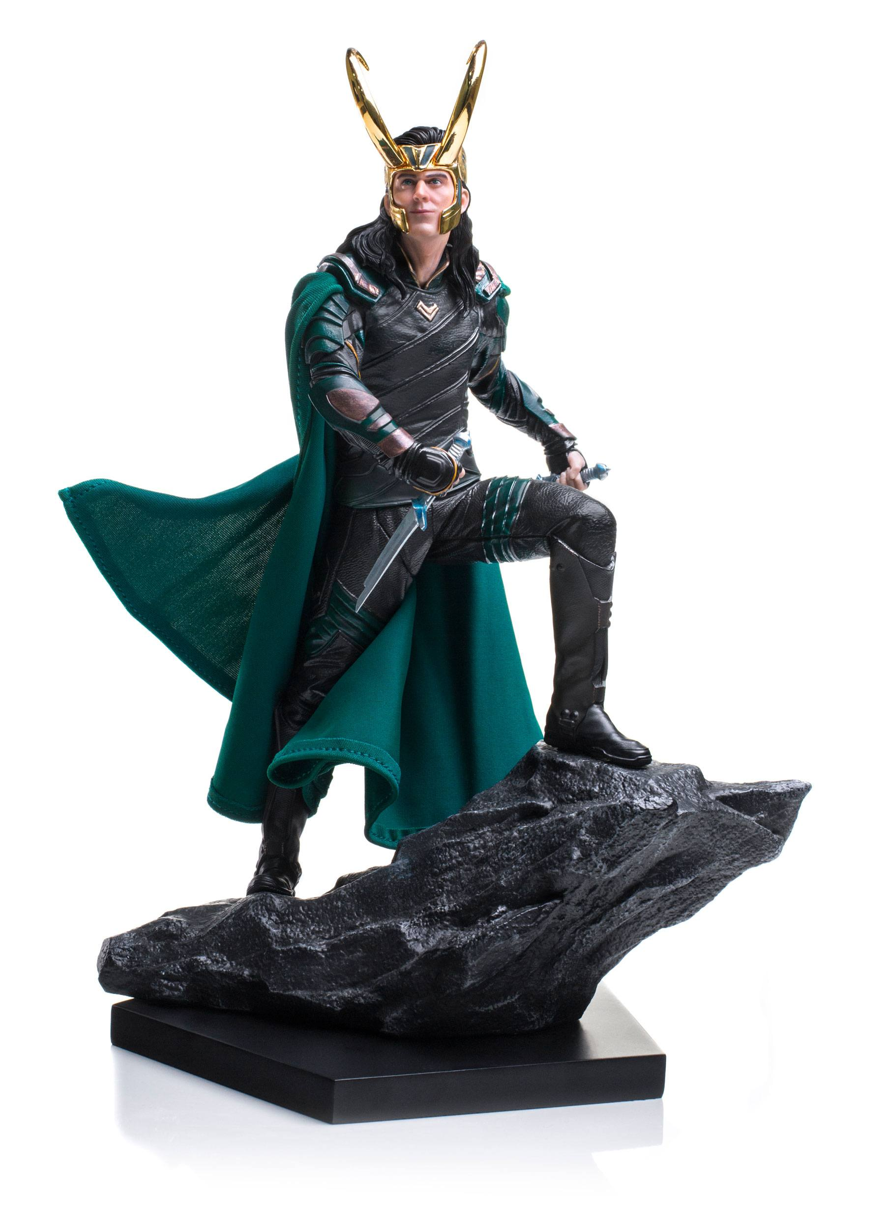 IRON STUDIOS Art Thor Ragnarok Loki 1//10 Scale Statue New with Box 25cm