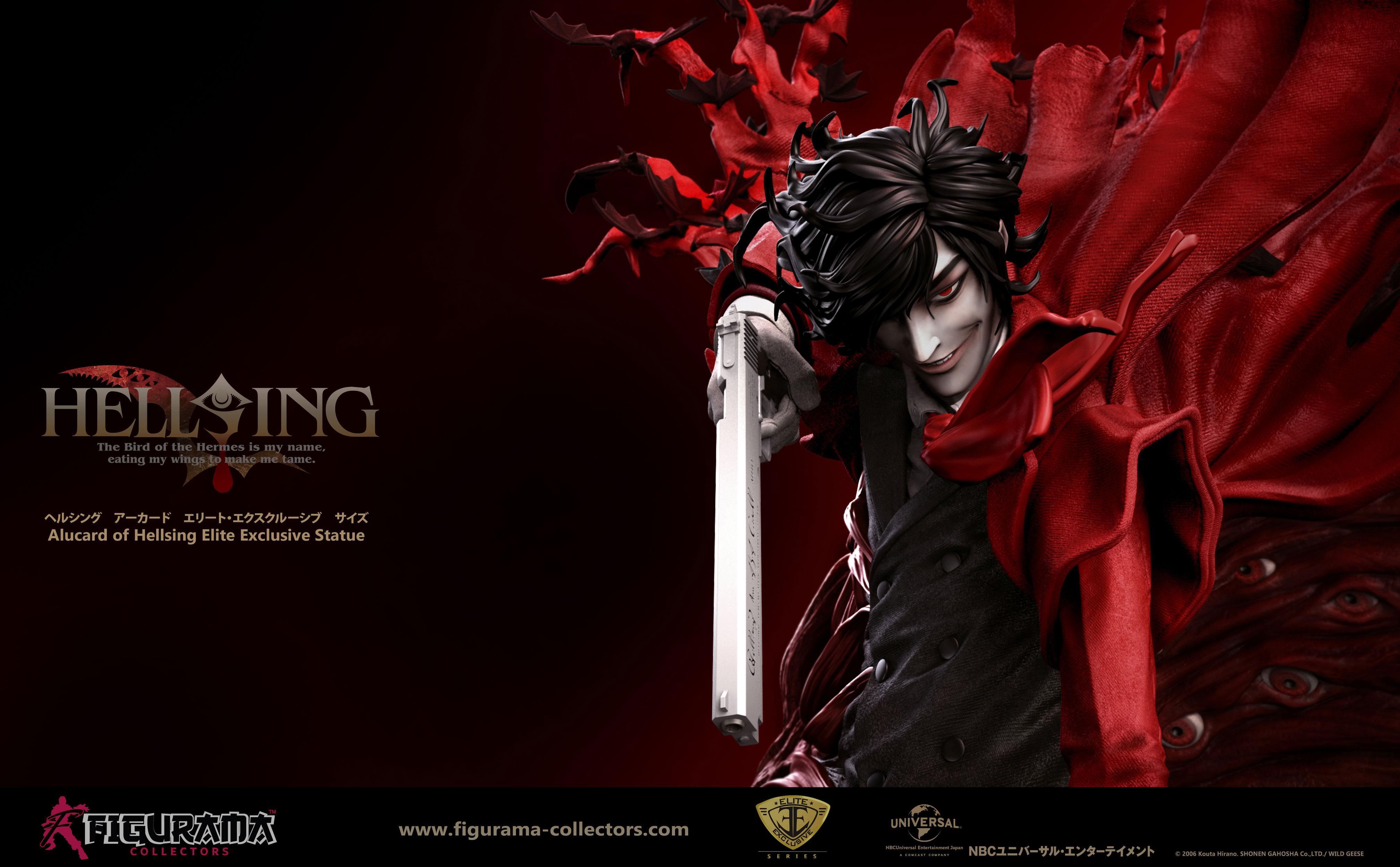 hellsing ultimate hellsing alucard