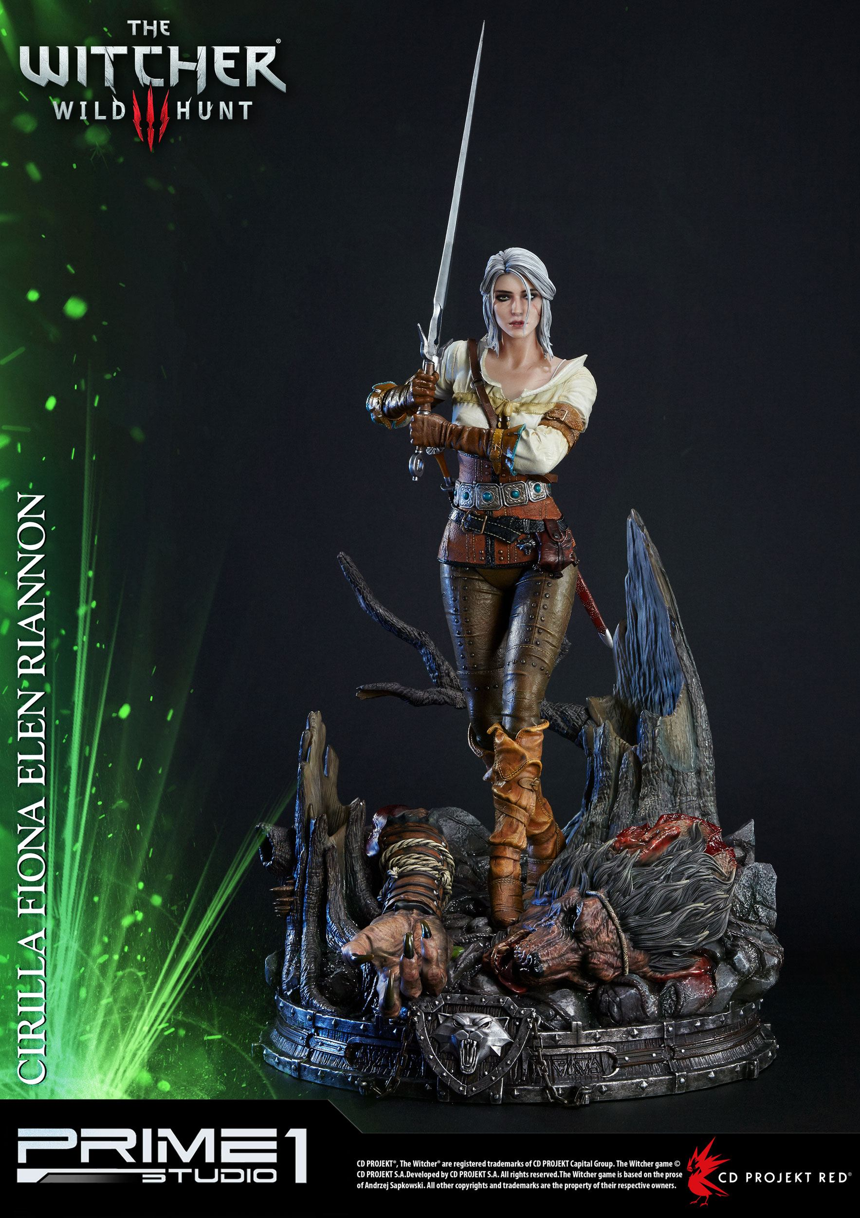Home Shop Witcher The 3 Wild Hunt Statues Ciri