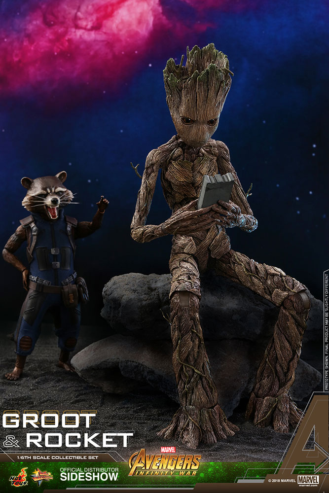 marvel-avengers-infinity-war-groot-and-rocket-sixth-scale-set-hot-toys-903423-05