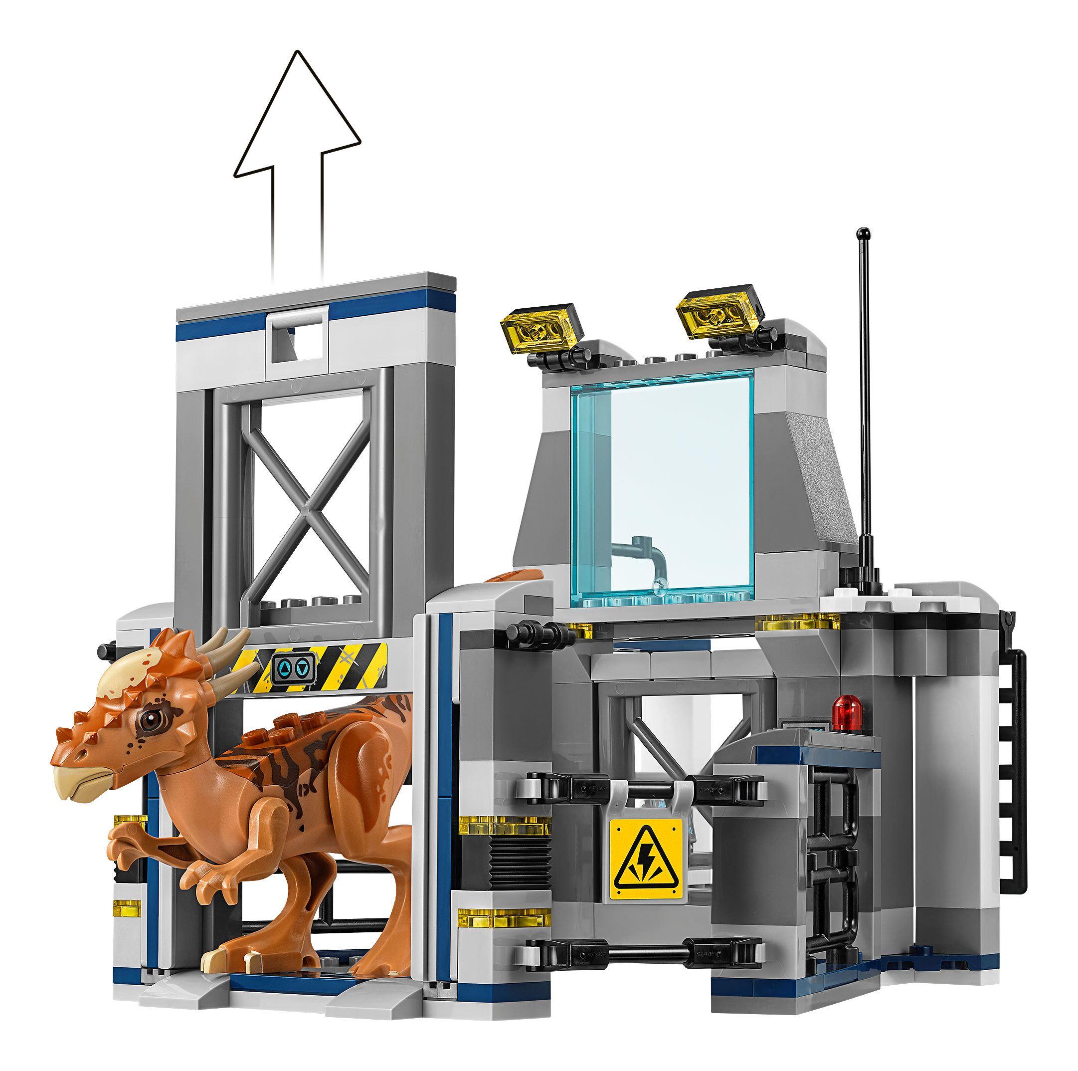 Lego Jurassic World 75927 Stygimoloch Breakout: Stygimoloch Laboratory Breakout