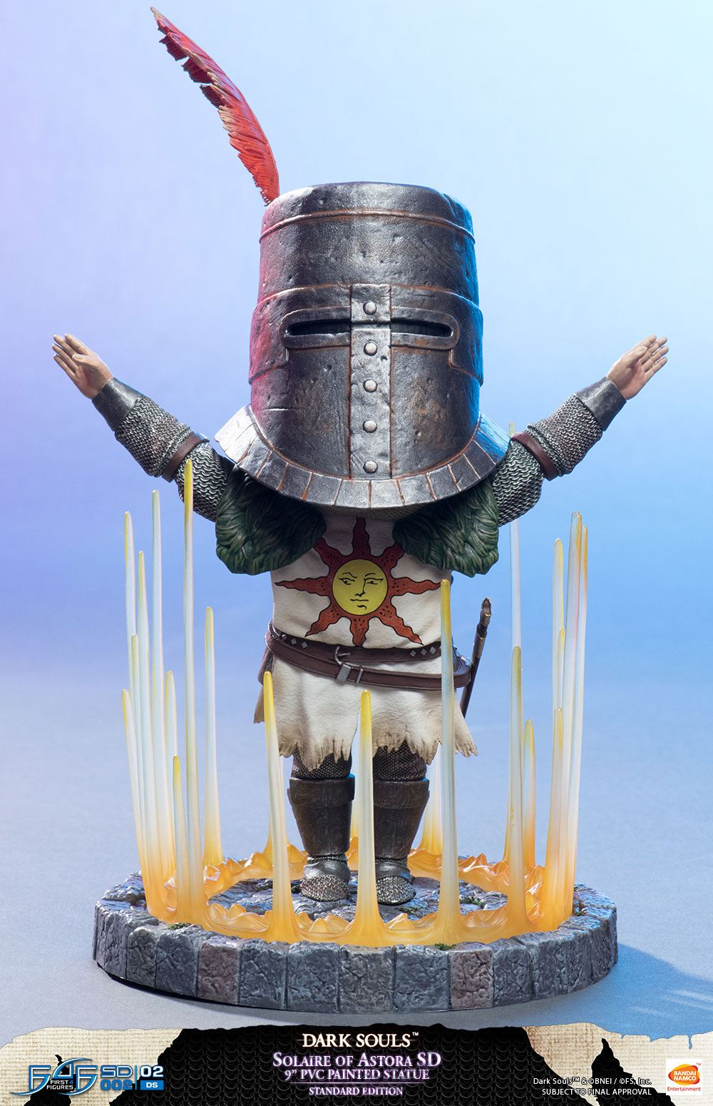 "Dark Souls II 2 Figure 12/"" Warrior Knight Statue LIMITED Edition COMPLETE DESC"