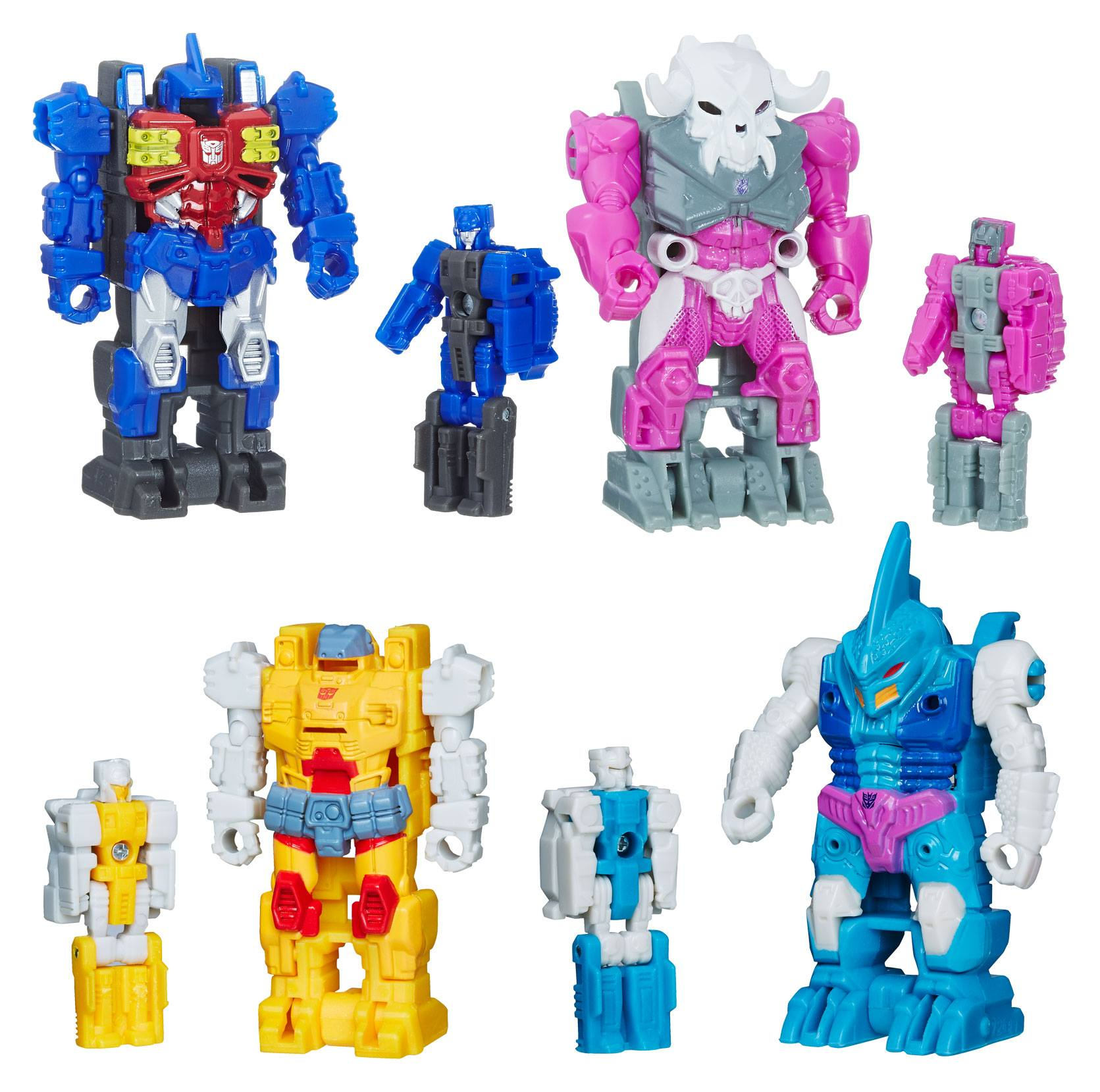 Transformers Power primes Masters Wave 2 Set Liège Vector alchimiste Alpha Trion
