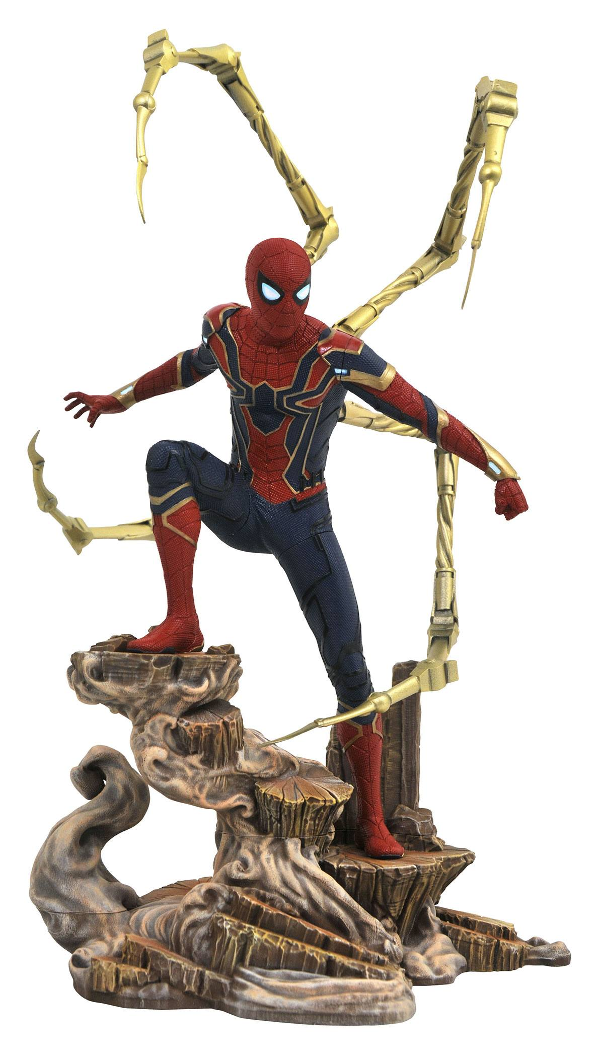 Avengers Infinity War Marvel Movie Gallery PVC Statue Iron Spider-Man 23 cm