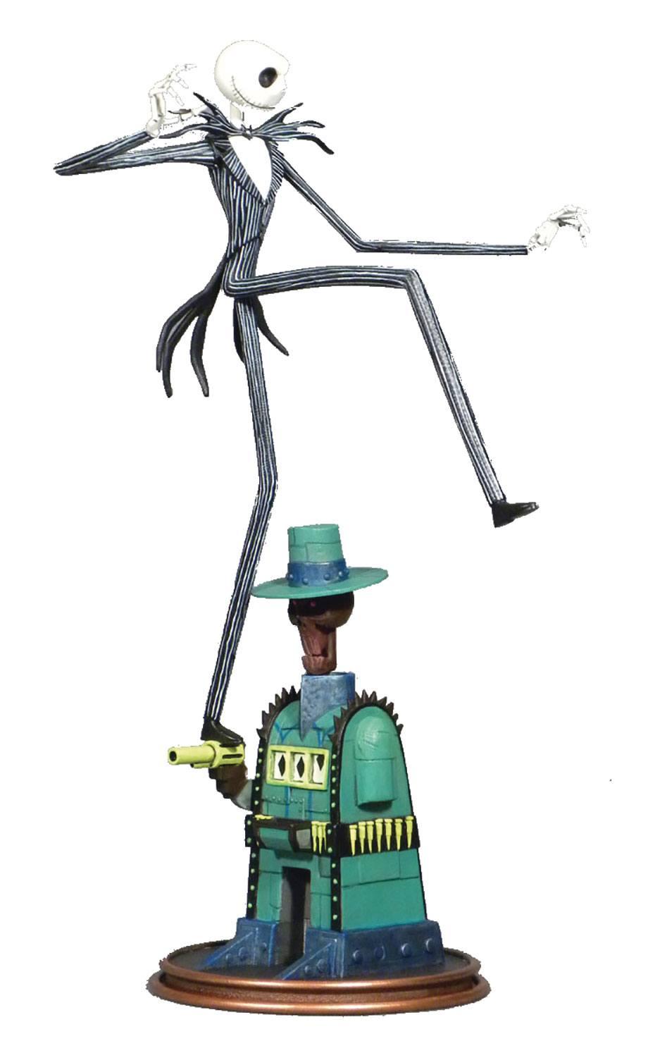 Nightmare before Christmas Gallery PVC Statue Oogie\'s Lair Jack ...