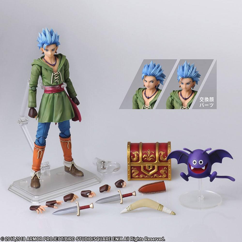 Dragon Quest XI Echoes of an Elusive Age Bring Arts Action Figure Erik 15  cm - Animegami Store