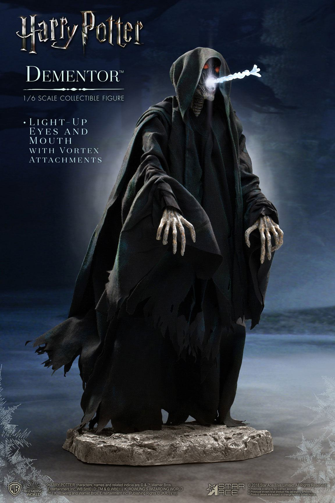 Harry Potter My Favourite Movie Action Figure 1/6 Dementor Deluxe Ver. 30 cm - Animegami Store