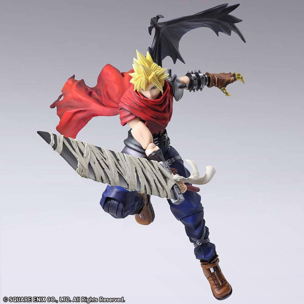 Final Fantasy Vii Bring Arts Action Figure Cloud Strife Another Form Ver 18 Cm Animegami Store