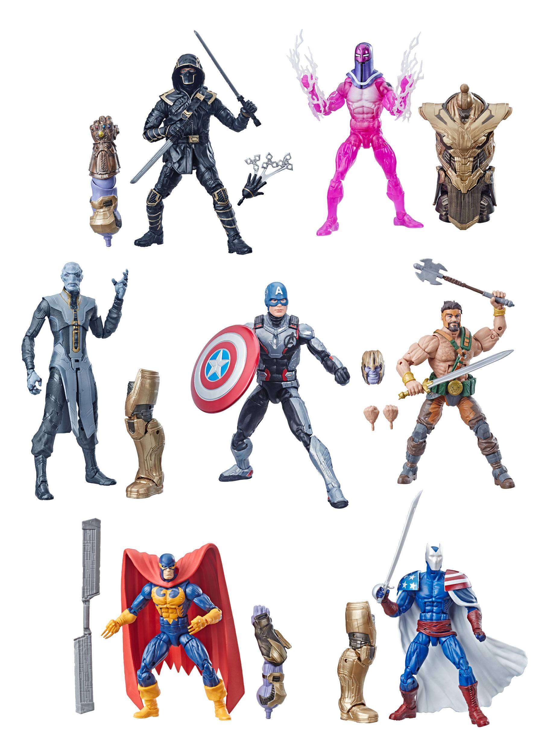 Marvel Legends Series Action Figures 15 cm Avengers 2019 Wave 1 Assortment  (8)