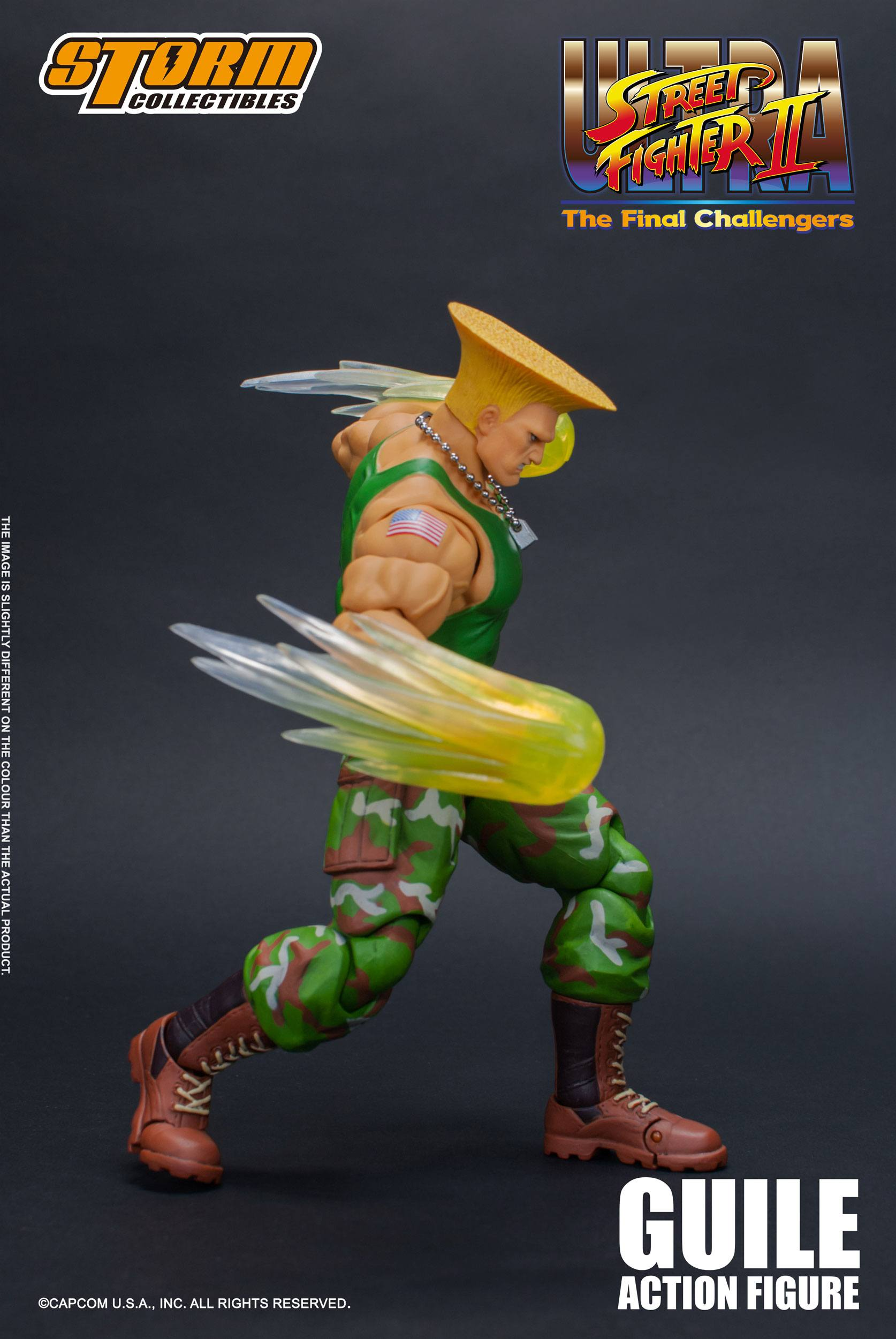 c Ultra Street Fighter II The Final Challengers Guile Storm Collectibles Japan