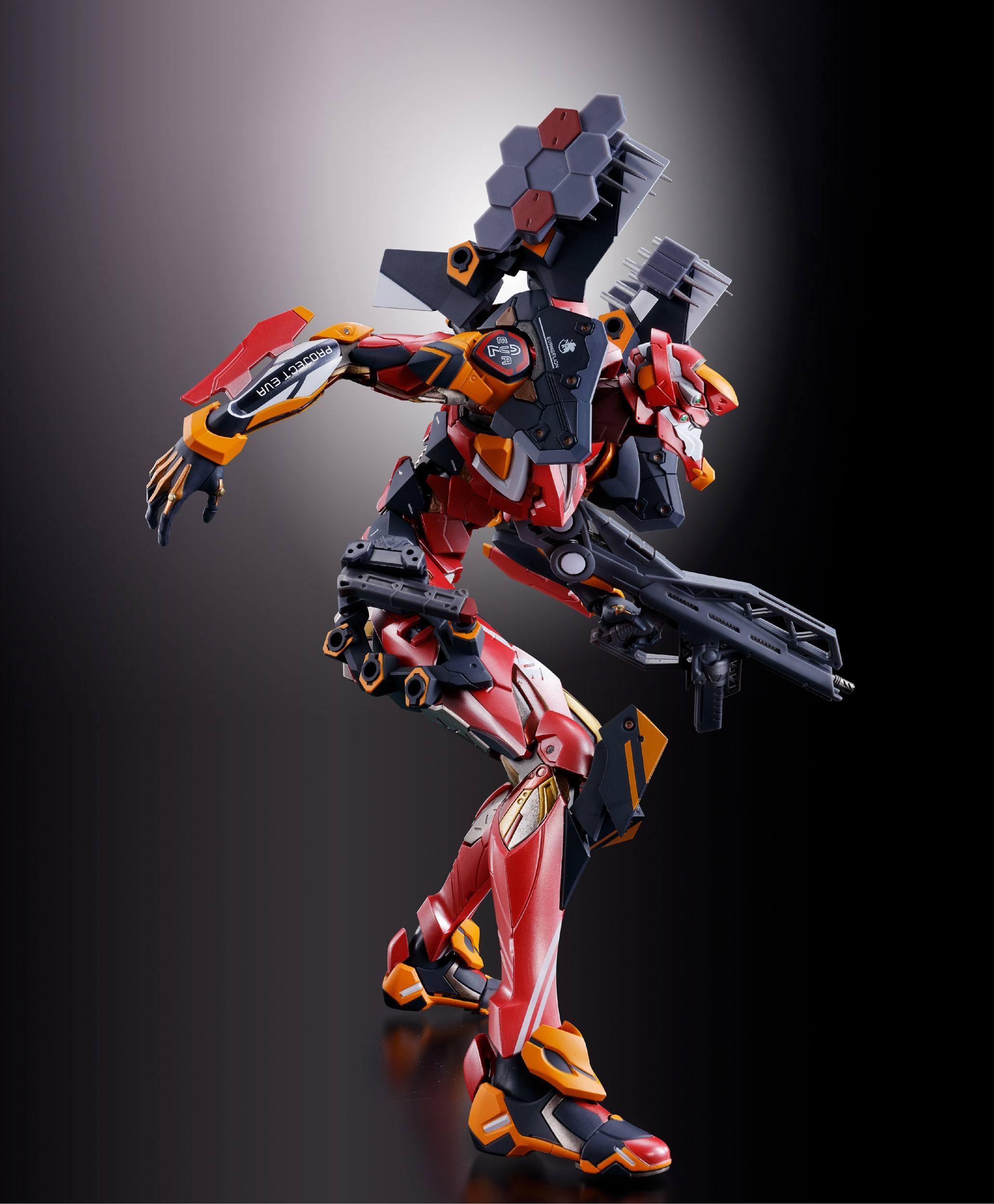 Eva-02 Production Model Real Model 03 Neon Genesis Evangelion Actionfrom New