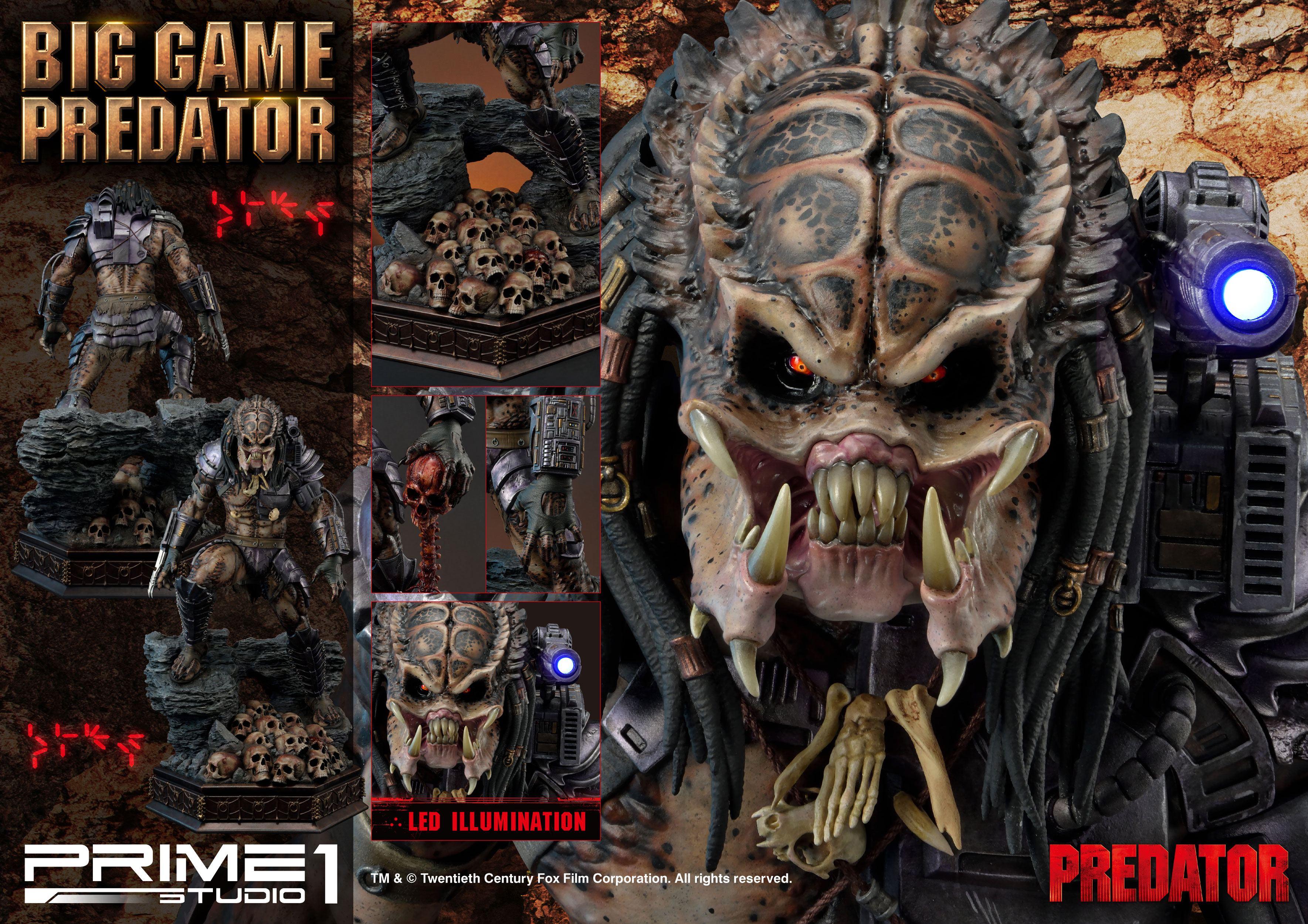 Predator Statue Big Game Predator 70 Cm Animegami Store