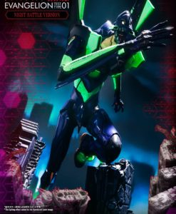 Neon Genesis Evangelion collectibles, statues and action