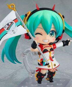 Hatsune Miku GT Project Nendoroid PVC Action Figure Racing Miku 2020 Ver. 10 cm
