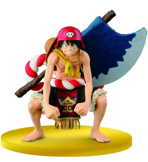 One Piece – Monkey D Luffy Big Zoukeio Special Film Gold Figure