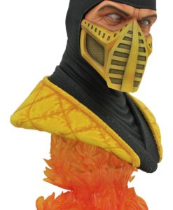 Mortal Kombat Legends in 3D Bust 1/2 Scorpion 25 cm
