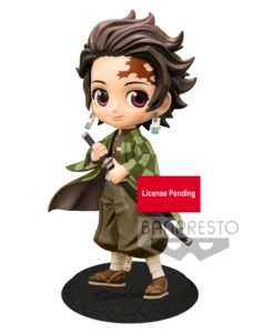 Demon Slayer Kimetsu no Yaiba Q Posket Mini Figure Tanjiro Kamado Ver. B 14 cm