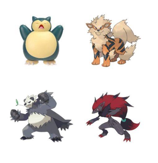 Pokémon Battle Feature Action Figures 11 cm Wave 7 Assortment (4)