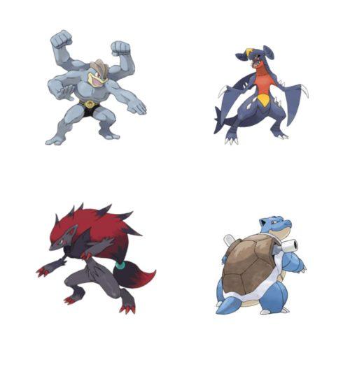 Pokémon Battle Feature Action Figures 11 cm Wave 6 Assortment (4)