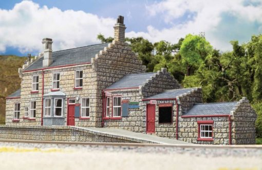Harry Potter Model Railway Building 1/76 Hogsmeade Station – Station Building