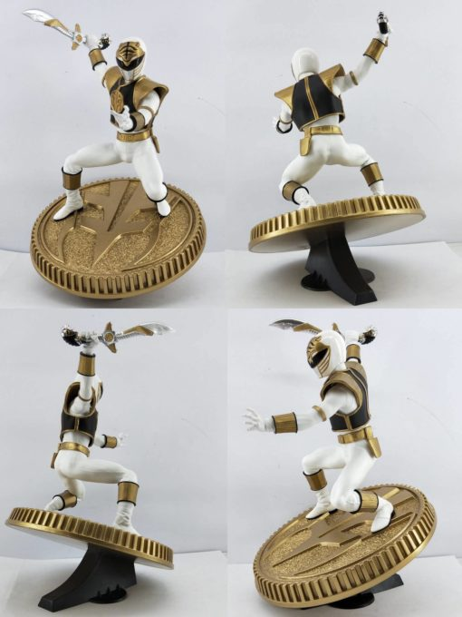 Mighty Morphin Power Rangers PVC Statue White Ranger 23 cm