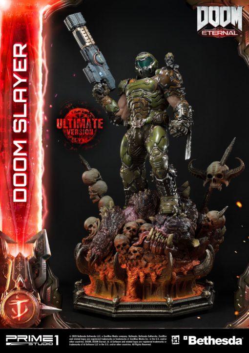 Doom Eternal Statue Doom Slayer Ultimate Version 110 cm