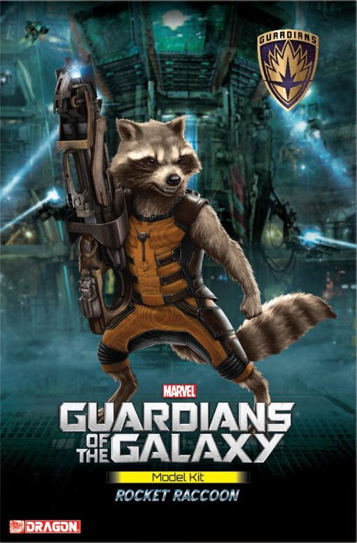 Guardians of the Galaxy Plastic Model Kit Rocket Raccoon 18 cm