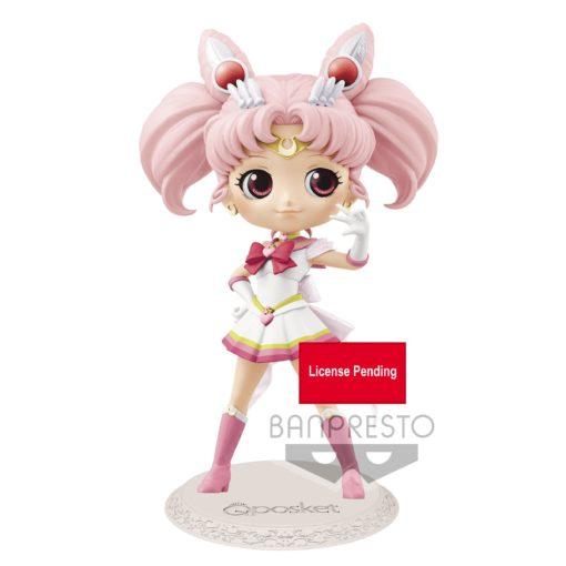 Sailor Moon Eternal The Movie Q Posket Mini Figure Super Sailor Chibi Moon Ver. B 14 cm