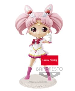 Sailor Moon Eternal The Movie Q Posket Mini Figure Super Sailor Chibi Moon Ver. A 14 cm