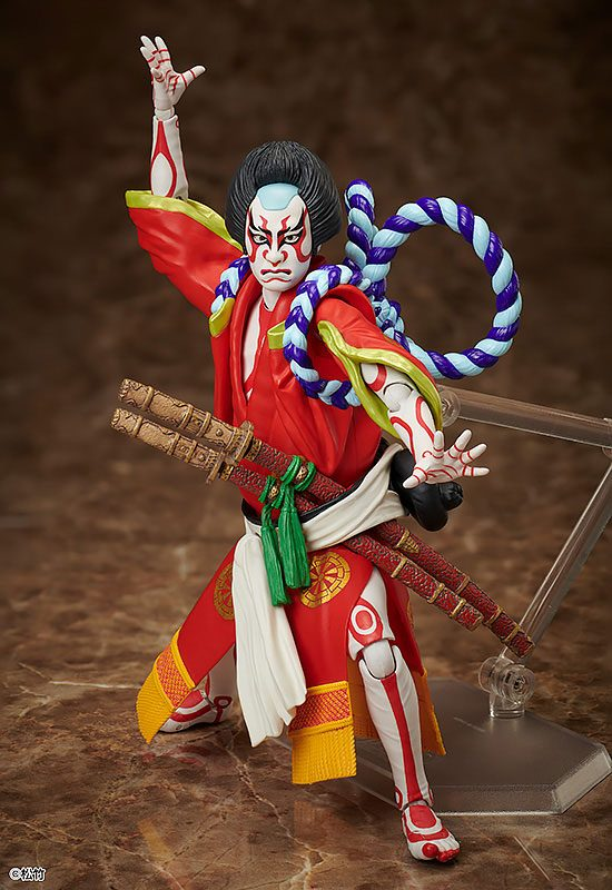 Yoshitsune Senbon Zakura Figma Action Figure Kitsune Tadanobu 15 cm