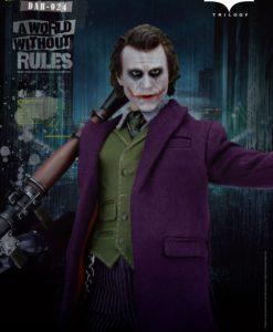 Batman The Dark Knight Dynamic 8ction Heroes Action Figure 1/9 The Joker 21 cm