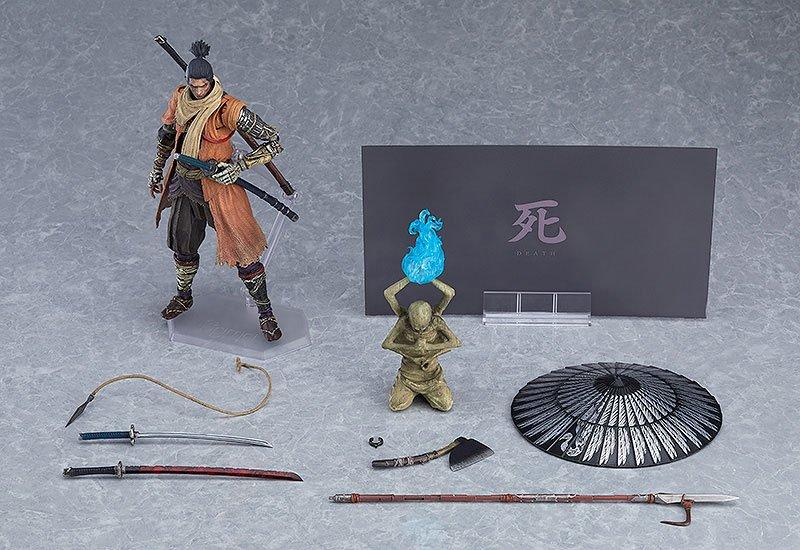Sekiro: Shadows Die Twice Figma Action Figure Sekiro: DX Edition 16 cm