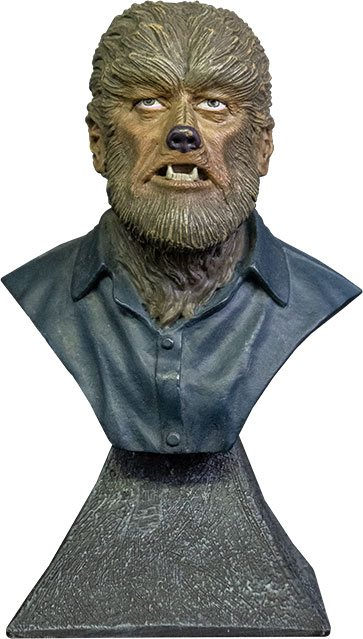 Universal Monsters Mini Bust The Wolf Man 15 cm