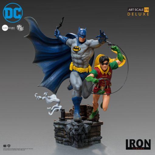 DC Comics Deluxe Art Scale Statue 1/10 Batman & Robin by Ivan Reis 25 cm