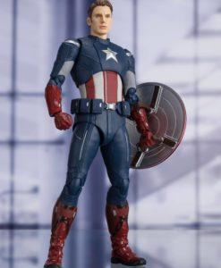 Avengers: Endgame S.H. Figuarts Action Figure Captain America Cap VS. Cap Edition 15 cm