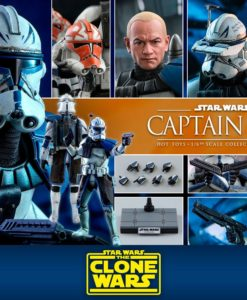 Star Wars The Clone Wars Action Figure 1/6 Captain Rex 30 cm