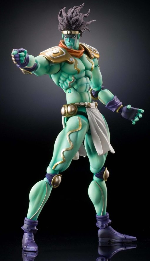 JoJo's Bizarre Adventure Super Action Action Figure Chozokado (Star Platinum) 16 cm