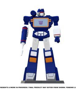 Transformers PVC Statue Soundwave 23 cm