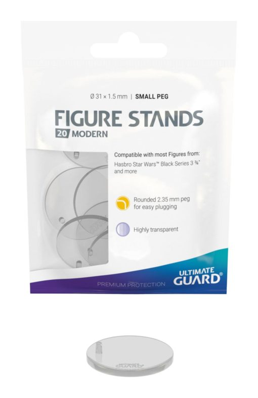 Ultimate Guard Figure Stands Small Peg Modern (20 pieces)