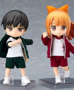 Original Character Parts for Nendoroid Doll Figures Outfit Set (Gym Clothes - Green)