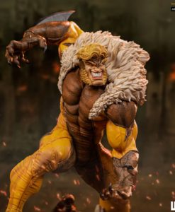 Marvel Comics BDS Art Scale Statue 1/10 Sabretooth 21 cm