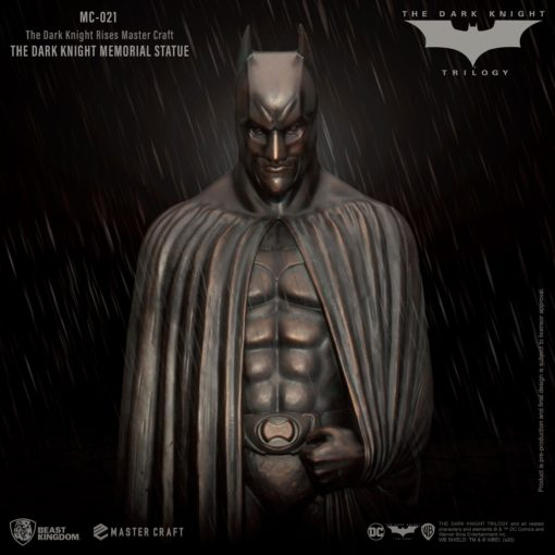 The Dark Knight Rises Master Craft Statue The Dark Knight Memorial Batman 45 cm