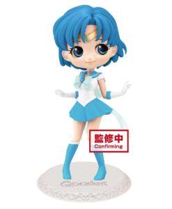 Sailor Moon Eternal The Movie Q Posket Mini Figure Sailor Mercury Ver. B 14 cm