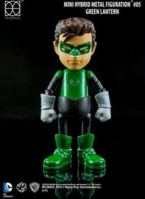 Justice League Mini Hybrid Metal Action Figure Green Lantern 9 cm